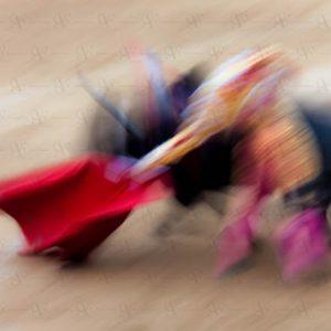 Abstract bullfighting