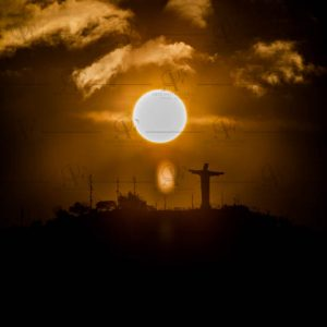 Cristo Rey sunset in Cali – Colombia